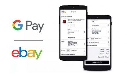 eBay dodaje Google Pay kao način plaćanja