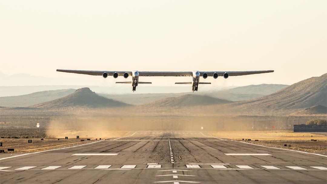 Pogledajte prvi let najvećeg aviona- Stratolaunch