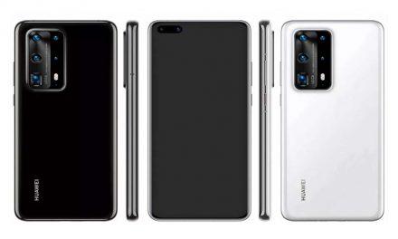 Procurele slike Huawei P40 Pro telefona