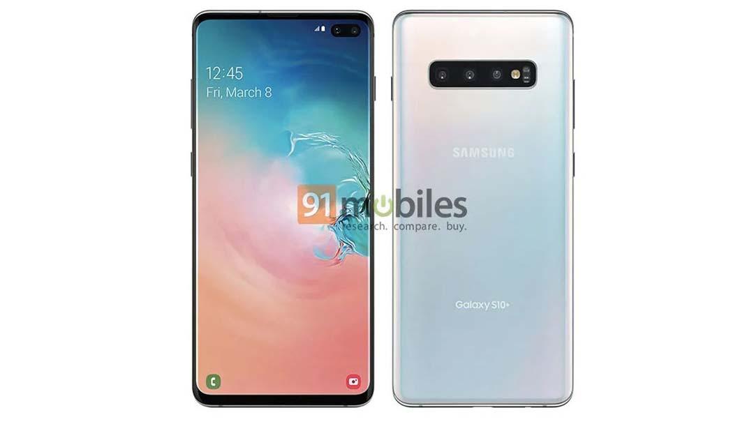 Novi prikaz Samsung Galaxy S10 Plus modela