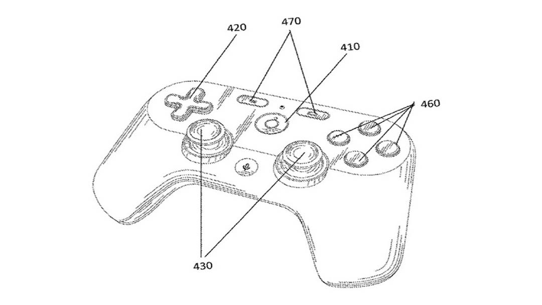 Google patent pokazuje mogući dizajn kontrolera