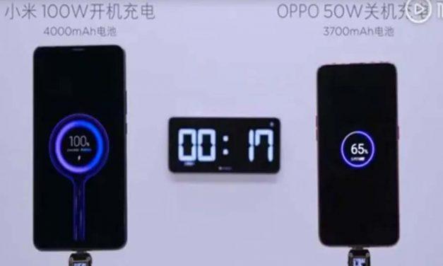 Xiaomi punjač od 100W puni bateriju od 4000mAh za 17 minuta
