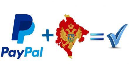 Peticija: Podržimo PayPal plaćanje u Crnoj Gori