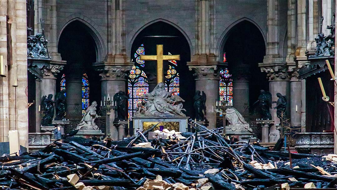 DJI dronovi su pomogli u praćenju i zaustavljanju požara Notre Dame