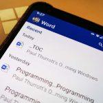 Microsoft Word za Android instaliran je više od milijardu puta
