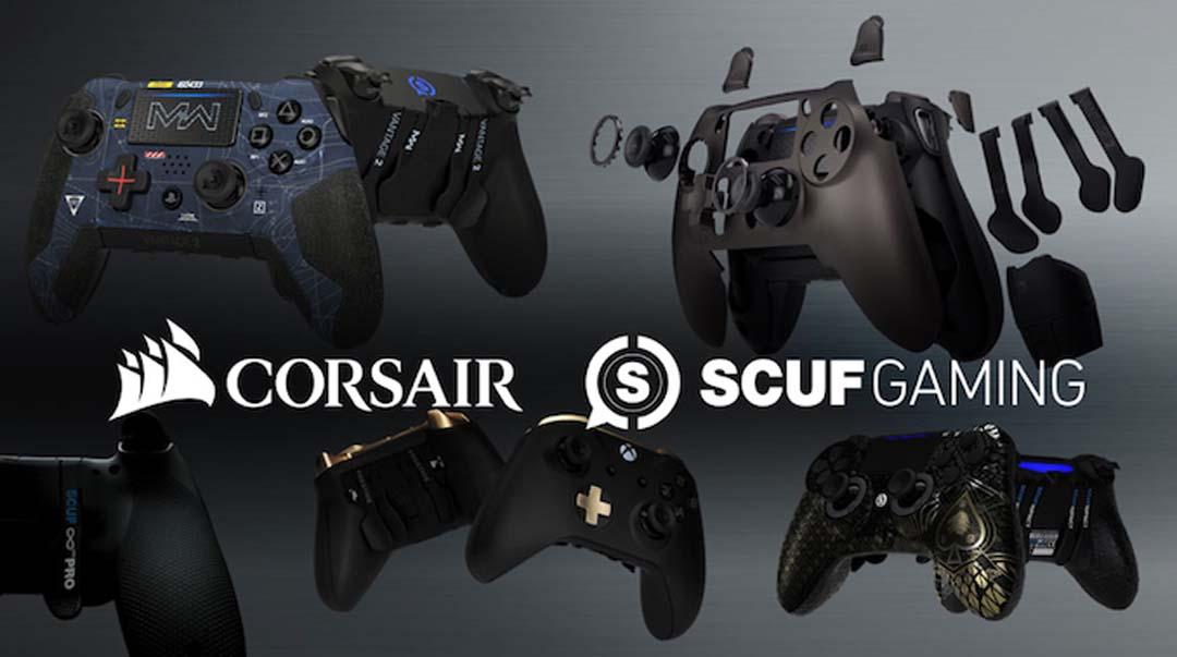 Corsair kupuje Scuf Gaming kako bi ušao na tržište kontrolera