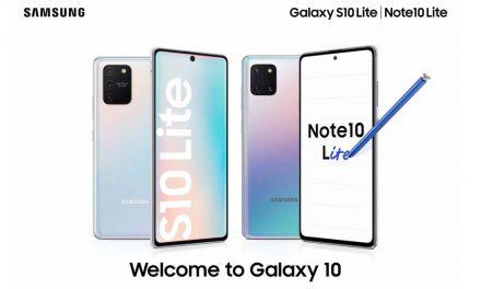 Predstavljeni Galaxy S10 Lite i Note10 Lite