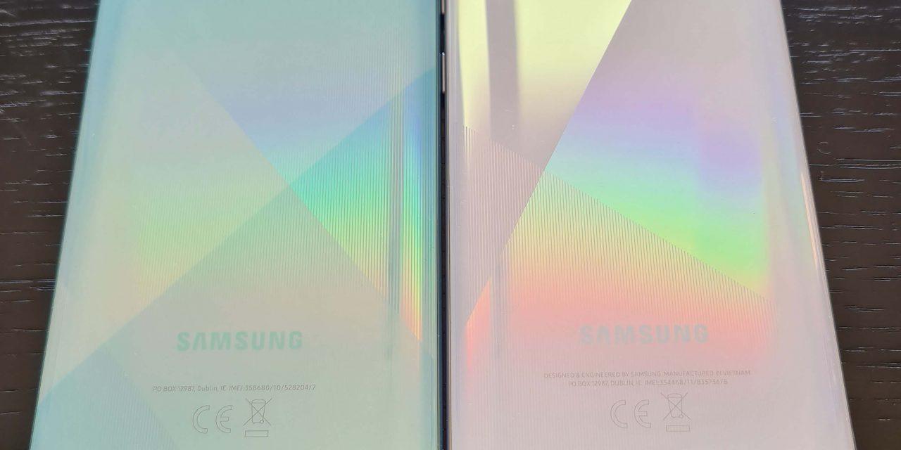Testirali smo: Samsung Galaxy A51 Lite vs A71
