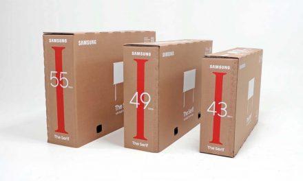 Samsung predstavlja novo ekološko pakovanje za svoje televizore