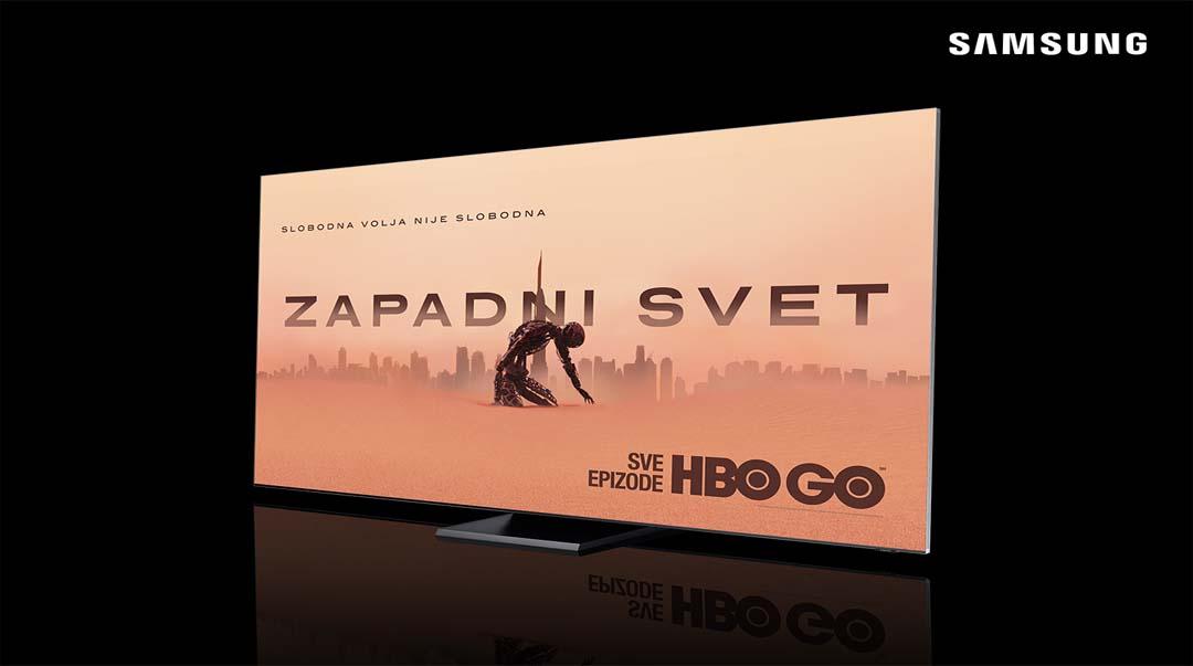 Uživanje u najboljim filmovima i serijama uz Samsung QLED televizore i HBO GO