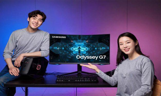 Samsung predstavlja Odyssey G7 gejming monitor sa najzakrivljenijim ekranom do sada i najboljim performansama u klasi