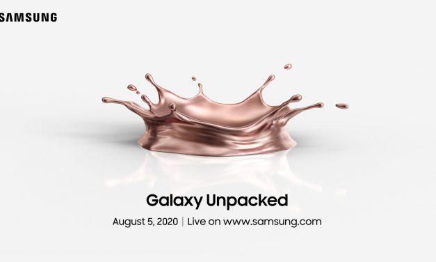 Samsung najavio lansiranje novog telefona 05. avgusta 2020