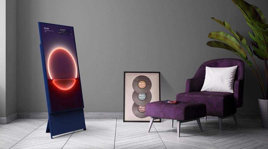 Prvi rotirajući televizor na svijetu je stigao na domaće tržište: Samsung The Sero